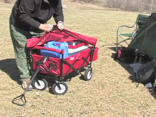 Folding Portable Wagon - image 7 from the video