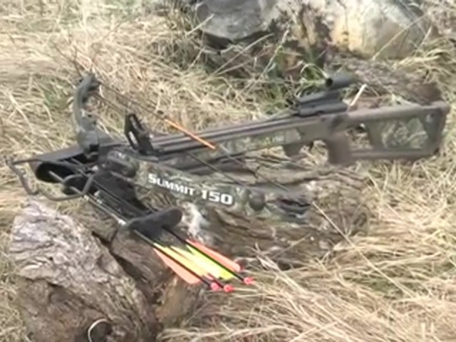 Horton® 150 - lb. Summit Crossbow Realtree® Hardwoods HD® - image 10 from the video