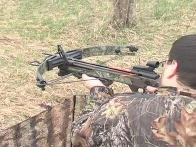 Horton® 150 - lb. Summit Crossbow Realtree® Hardwoods HD® - image 2 from the video