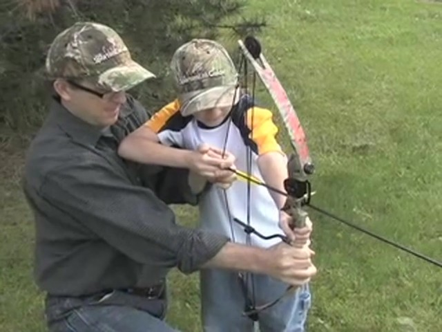 Arrow Precision™ Caribou Youth Bow Fall Dip Camo - image 1 from the video