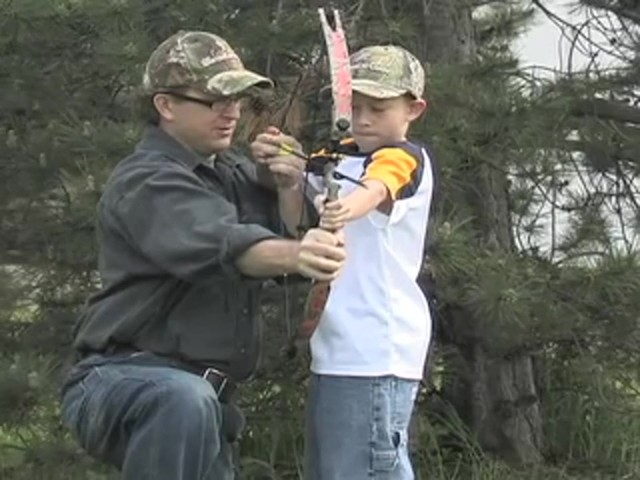 Arrow Precision™ Caribou Youth Bow Fall Dip Camo - image 2 from the video