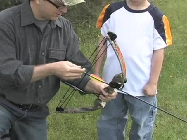 Arrow Precision™ Caribou Youth Bow Fall Dip Camo - image 3 from the video