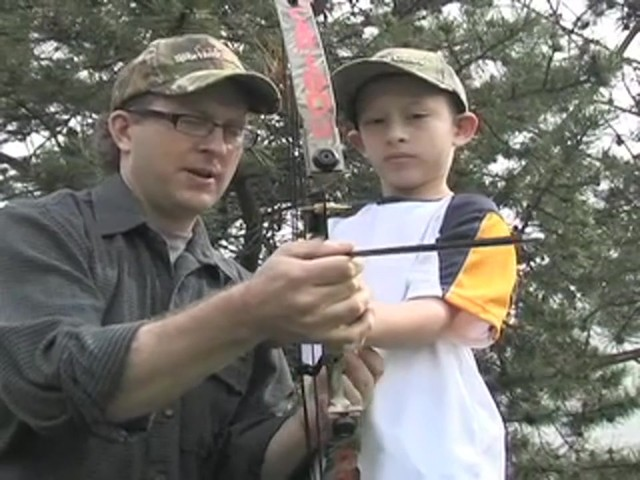 Arrow Precision™ Caribou Youth Bow Fall Dip Camo - image 4 from the video