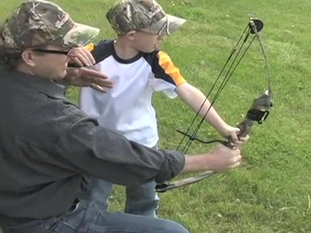 Arrow Precision™ Caribou Youth Bow Fall Dip Camo - image 5 from the video