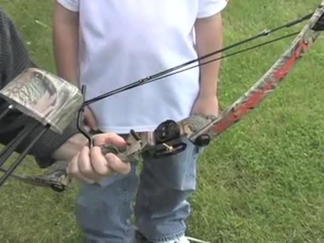 Arrow Precision™ Caribou Youth Bow Fall Dip Camo - image 6 from the video