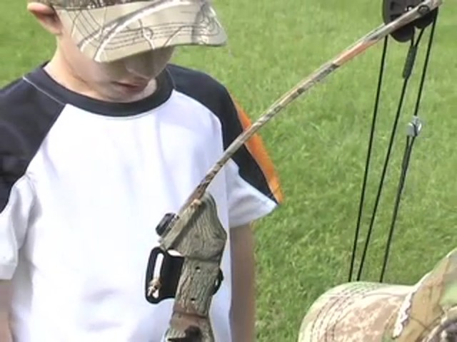 Arrow Precision™ Caribou Youth Bow Fall Dip Camo - image 7 from the video