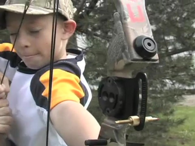 Arrow Precision™ Caribou Youth Bow Fall Dip Camo - image 8 from the video