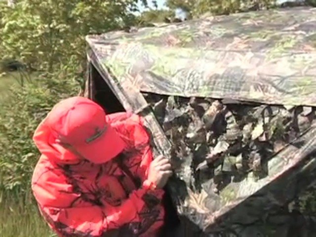 Guide Gear® Leafy Hybrid Blind - image 1 from the video