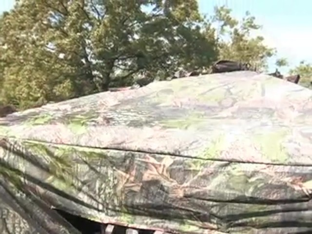 Guide Gear® Leafy Hybrid Blind - image 3 from the video