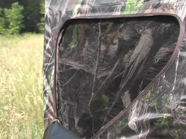 Guide Gear® Deluxe 5 - hub Ground Blind Next Camo® - image 4 from the video