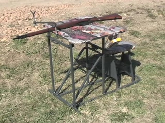 Guide Gear® Folding Shooting Bench - image 10 from the video