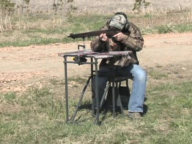 Guide Gear® Folding Shooting Bench - image 2 from the video