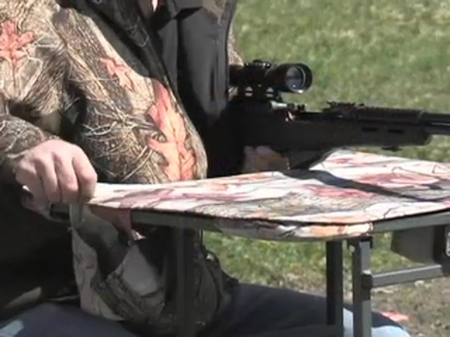 Guide Gear® Folding Shooting Bench - image 5 from the video