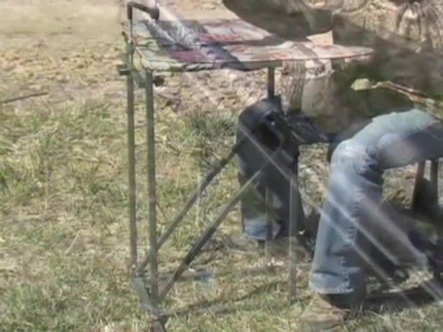 Guide Gear® Folding Shooting Bench - image 6 from the video