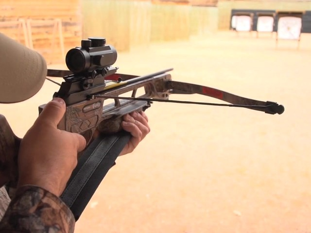 Arrow Precision® Inferno Fury Recurve Crossbow Package with Rope Cocker - image 1 from the video