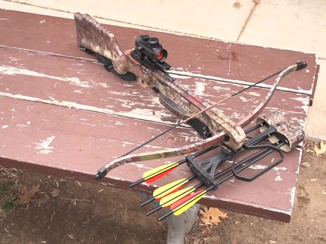 Arrow Precision® Inferno Fury Recurve Crossbow Package with Rope Cocker - image 10 from the video