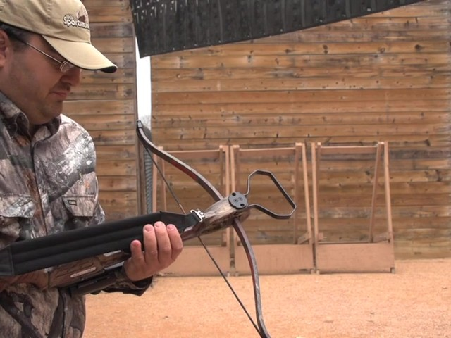 Arrow Precision® Inferno Fury Recurve Crossbow Package with Rope Cocker - image 3 from the video