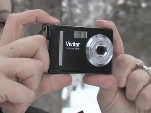 Vivitar® 10 - megapixel Digital Camera with BONUS 2GB Card / Case / Tripod - image 1 from the video