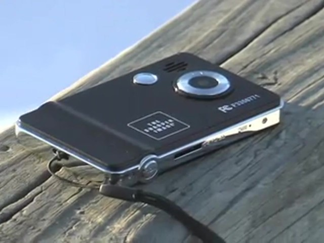 The Sharper Image® Digital Camera / Camcorder - image 10 from the video