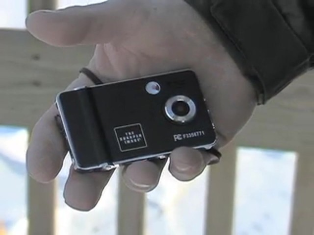 The Sharper Image® Digital Camera / Camcorder - image 2 from the video