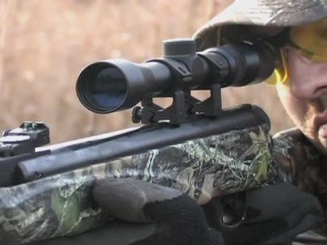 Hatsan Arms® Mod - 85 Break - barrel Air Rifle New Mossy Oak Break - Up® - image 7 from the video