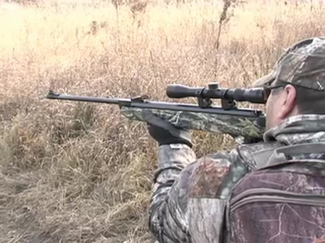 Hatsan Arms® Mod - 85 Break - barrel Air Rifle New Mossy Oak Break - Up® - image 8 from the video