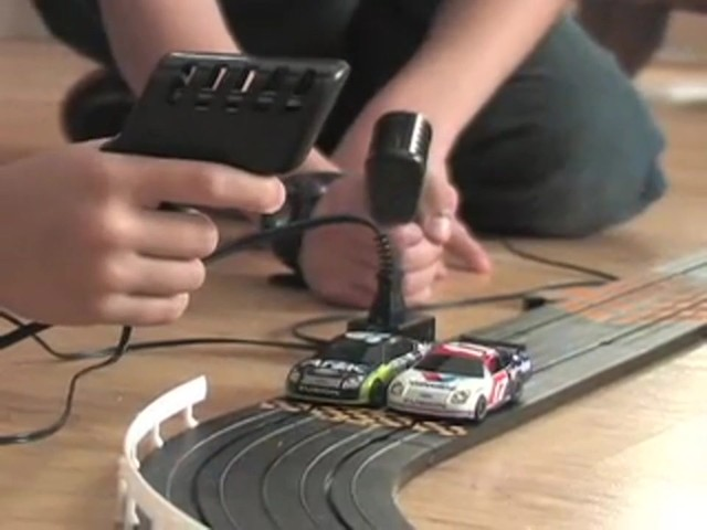 NASCAR® Showdown Slot Car Race Set  - image 1 from the video
