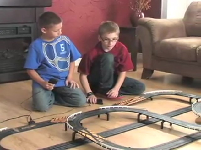 NASCAR® Showdown Slot Car Race Set  - image 2 from the video