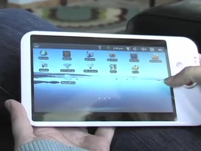Touch Screen WiFi Tablet Computer  - image 7 from the video