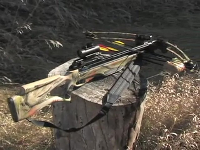 United® 175 - lb. Compound Crossbow Kit - image 10 from the video