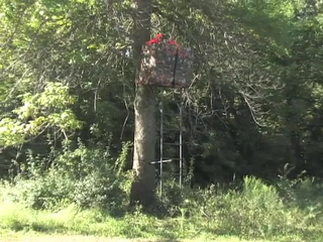 Rivers Edge® Opening Day™ Ladder Tree Stand - image 2 from the video