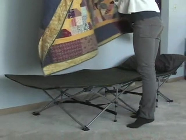 MAC Sports® Instant Folding Cot Olive Drab - image 1 from the video
