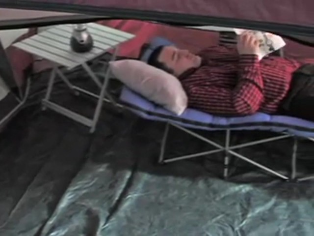 MAC Sports® Instant Folding Cot Olive Drab - image 8 from the video