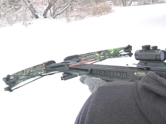 HORTON LEGEND 175 HD CROSSBOW  - image 7 from the video