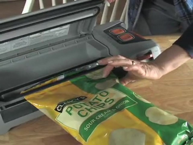 GameSaver® Silver Food Sealer - image 7 from the video