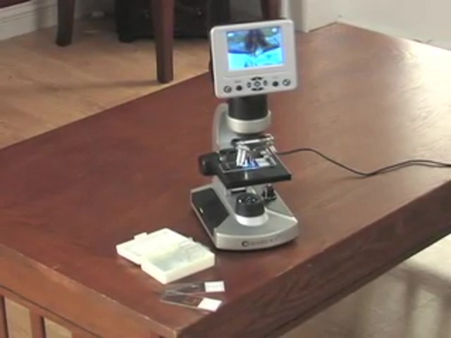 "Barska® 1600X Digital Microscope with 3.5"" Color Screen - image 1 from the video"