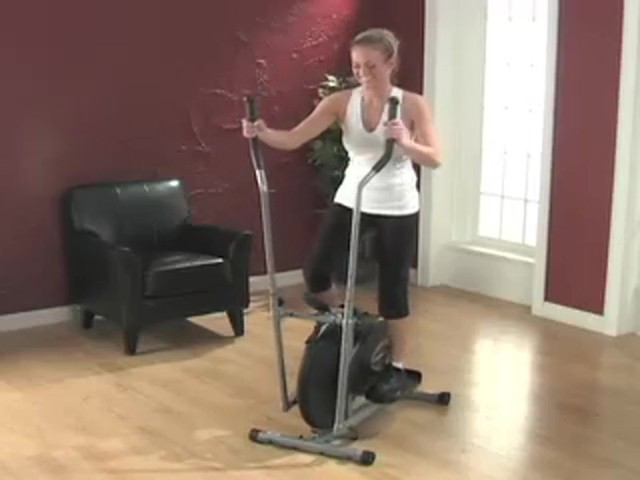 Exerpeutic™ Aero Elliptical Machine - image 4 from the video