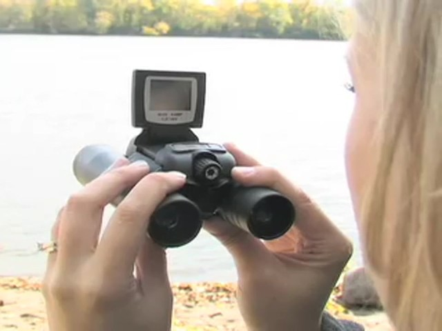 Barska® 4.0 - megapixel Point 'N View Binoculars / Digital Camera - image 4 from the video