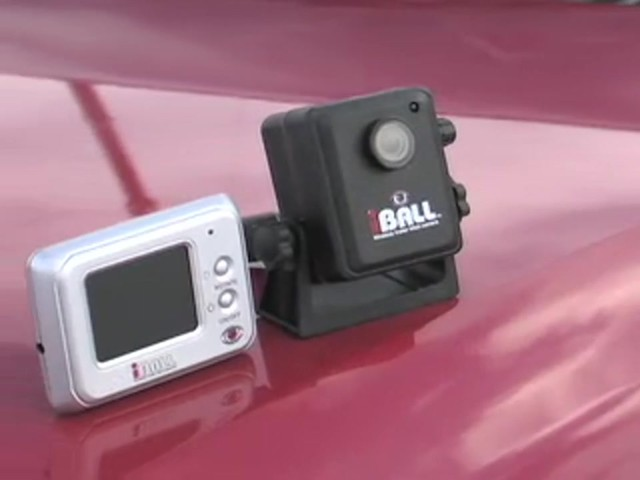 iBall™ Wireless Trailer Hitch Camera - image 10 from the video