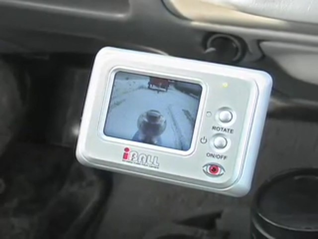 iBall™ Wireless Trailer Hitch Camera - image 5 from the video