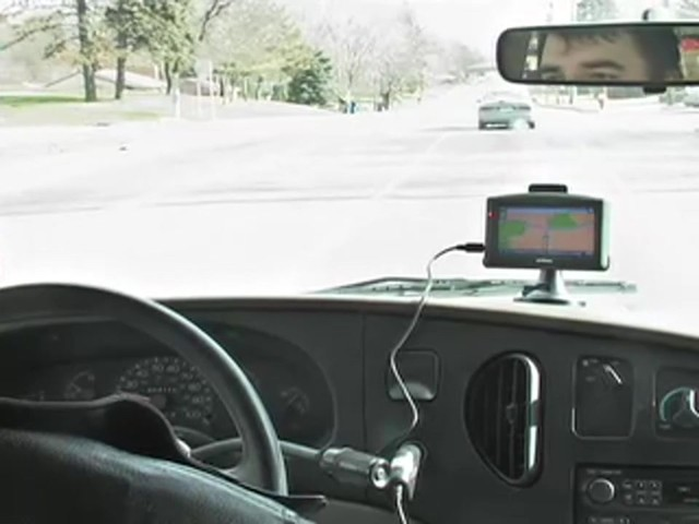 "InVion® 4 3/10"" Touch Screen GPS Navigation Unit - image 1 from the video"