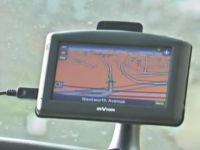 "InVion® 4 3/10"" Touch Screen GPS Navigation Unit - image 2 from the video"