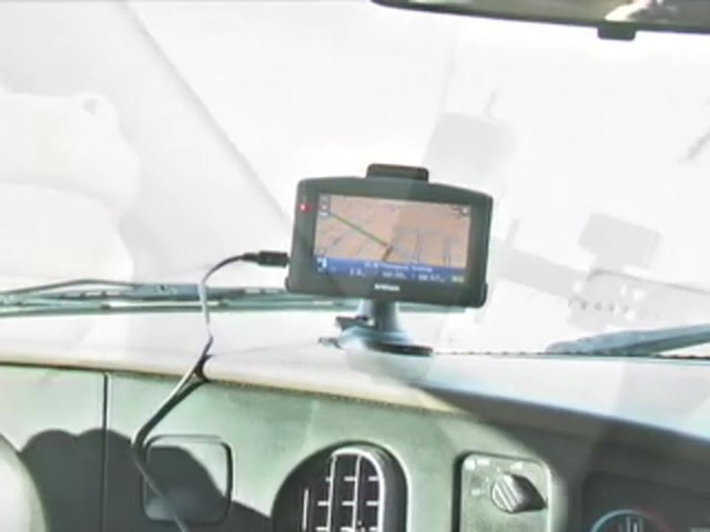 "InVion® 4 3/10"" Touch Screen GPS Navigation Unit - image 3 from the video"