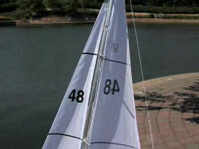 Radio - controlled Sailboat Replica - image 1 from the video