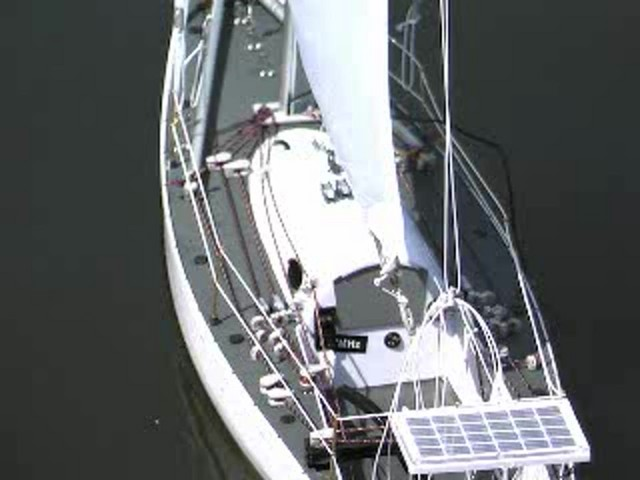 Radio - controlled Sailboat Replica - image 3 from the video