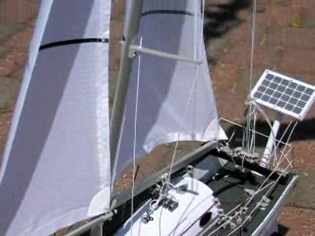 Radio - controlled Sailboat Replica - image 4 from the video