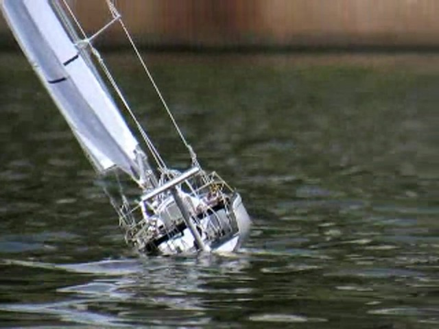Radio - controlled Sailboat Replica - image 5 from the video