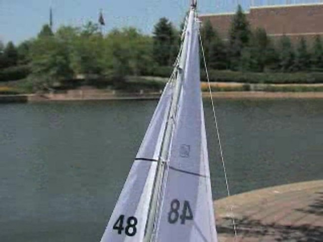 Radio - controlled Sailboat Replica - image 6 from the video