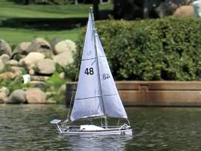 Radio - controlled Sailboat Replica - image 7 from the video