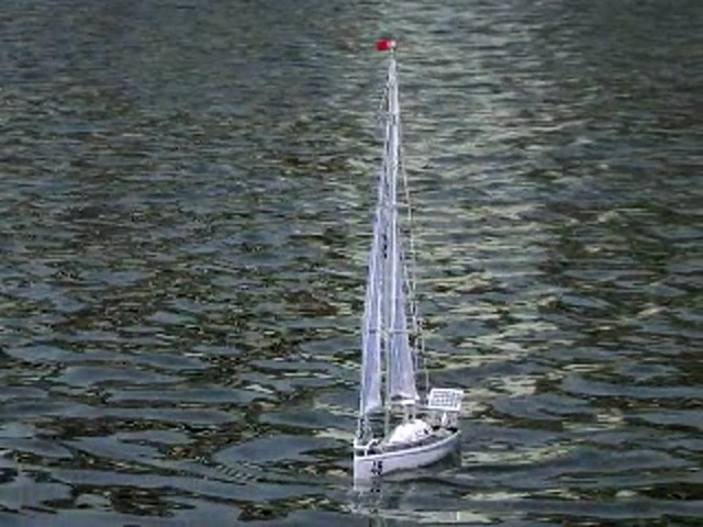 Radio - controlled Sailboat Replica - image 8 from the video